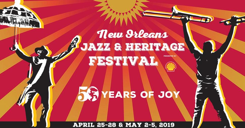 Imagen promocional del Festival de Jazz de New Orleans