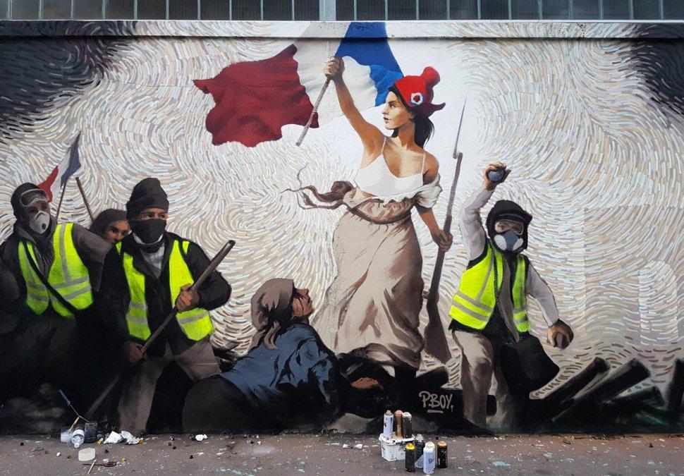 Grafitti Pascal Boyart en Paris
